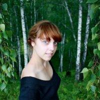 У берёзовых ветвей. :: Наталья Юрова