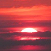 Закат в Букче :: Лидия Андрейковец(Яворская)