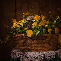 Корзина с полевыми цветами :: Светлана Л.