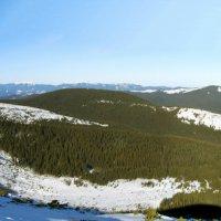 Зимняя панорамка украинского высокогорья) :: Виктор Пархоменко