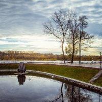 Гомельский парк. Вид на набережную :: Сергей Пилтник