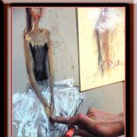 Балерина и пастель :: Михаил Палей