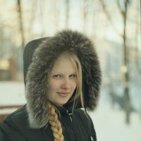 Снегурочка по имени Ирина :: Андрей Самуйлов