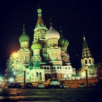Москва, храм Василия Блаженного :: Александр Аксенов