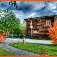 На дорожках осень. :: Алексей Хаустов