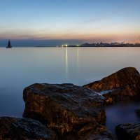 Закат на Финском заливе :: Ростислав Бычков