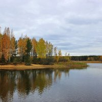 Осень.Залив. :: Александр Щеклеин