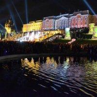На празднике закрытия фонтанов в Петродворце :: Константин Жирнов