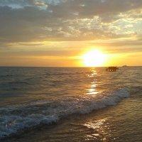закат на черном море :: Anastacia Ivanova