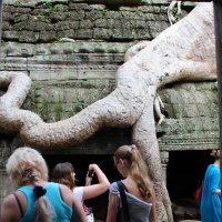 Камбоджа. Ангкор-Ват. Многовековые корни :: Владимир Шибинский