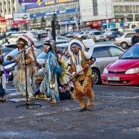 Индейцы в городе ... :: Yrii Badin