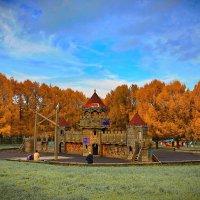 парк осень :: юрий макаров