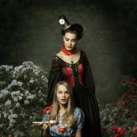 в саду червовой дамы :: Ирина Хуторная