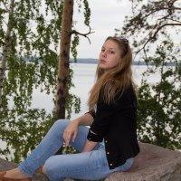 на озере :: Андрей Пешин