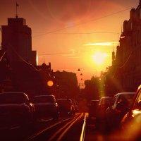 Анна Чабина - Город машин и закатов :: Фотоконкурс Epson