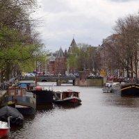 Каналы Амстердама. :: Ольга