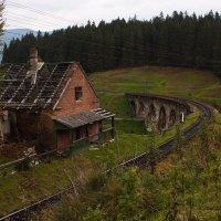 Старый мост и дом охраны моста :: Владимир Коптев
