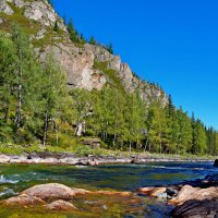 Река Кумир в Горном Алтае. :: Владимир Михайлович Дадочкин
