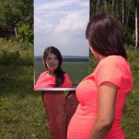 Беременная девушка :: Юлия Уткина