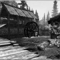 Лесопилка в старой деревне :: Igor Volkov