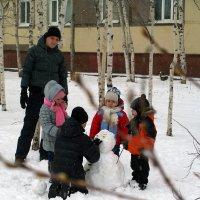 Снеговик :: Екатерина Гилёва