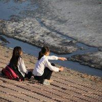 Весна в Астане :: Айнагуль Бекебаева