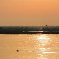 золотая река :: Татьяна Исаева-Каштанова