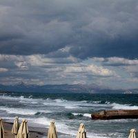 Две стихии - небо и море.... :: Антонина Гугаева