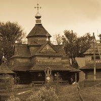 Церковь в Ворохте :: Владимир Коптев