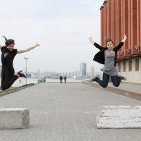 В прыжке :: Анастасия Латышева