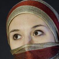 Портрет в восточном стиле :: Александр Табаков