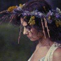 венок с фиолетовыми цветами :: Анастасия Influentia