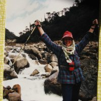 Тибет переправа через горную реку :: Ирина Березкина
