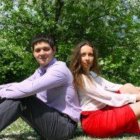 Полина и Сергей :: Юлия Ваганова