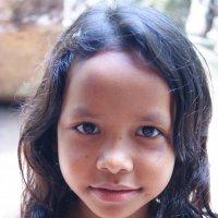 Кхмерская девочка. :: Лариса Борисова