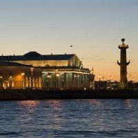 Здание Биржи и Ротральная колонна :: Алексей Кудрявцев