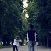 Отец и дочь :: Давид М