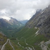 Дорога троллей в Норвегии :: Полина Иващенко