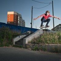 Ollie over the gap :: Максим Рунков