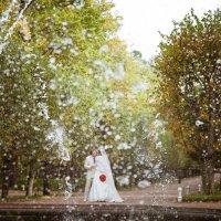 Свадьба в Петергофе :: Андрей Гурьев