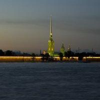 Петропавловская крепость - закат :: Алексей Кудрявцев