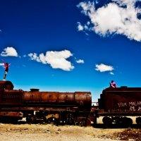 Боливия 2012, Уюни, Кладбище паровозов :: Олег Трифонов