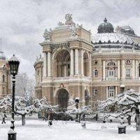 Театр в снежных кружевах :: Игорь Сытник