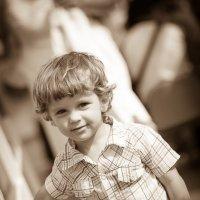 Мальчик на теплоходе :: Владимир Клёцын