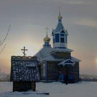 Рождественское утро в селе Игнатово.Амурская облость :: Елена Горбова
