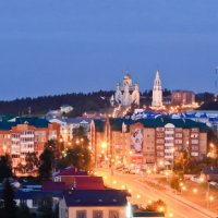 Белые ночи в Ханты-Мансийске :: Кирилл Матковский
