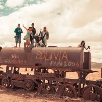 Боливия 2012, Уюни, Кладбище паровозов, :: Олег Трифонов