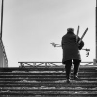 лыжница :: Николай Шумилов