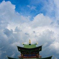 Дворец Хомбо ламы Итегелова :: Геннадий Лосев