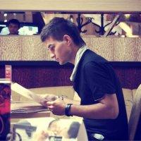 В кафе :: Дилара Валишина
